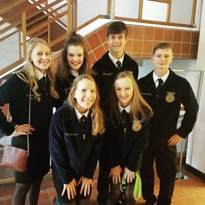 FFA Final 4,  ParLaw Team at the State FFA Convention