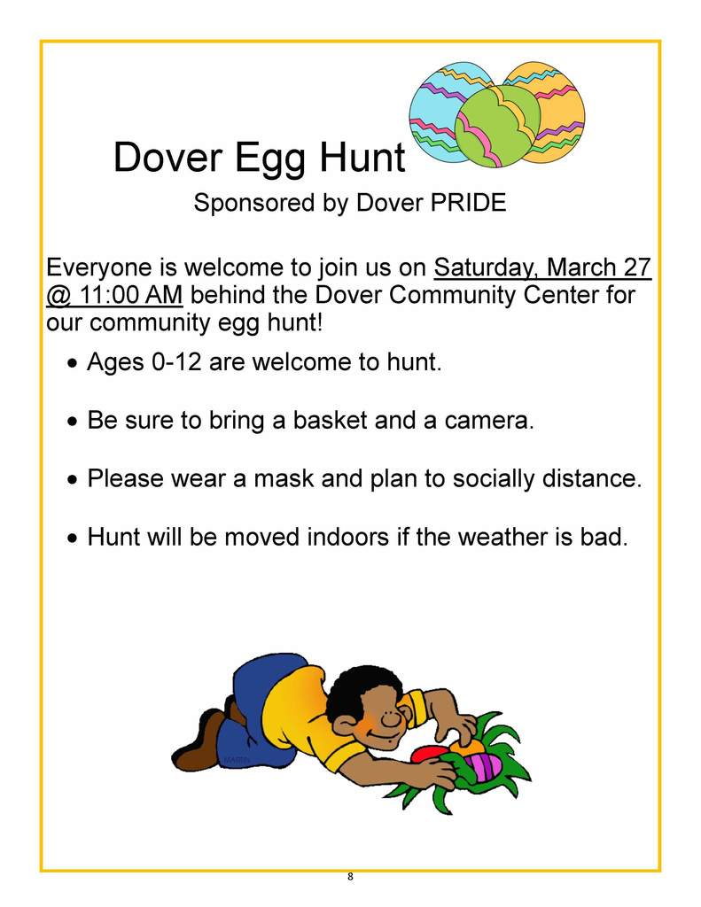 Dover Pride Community Easter Egg Hunt
