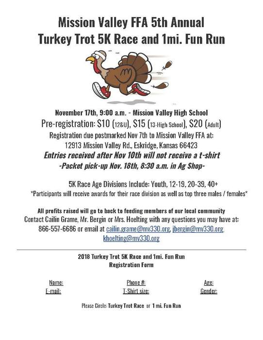 Turkey Trot Information and Registration