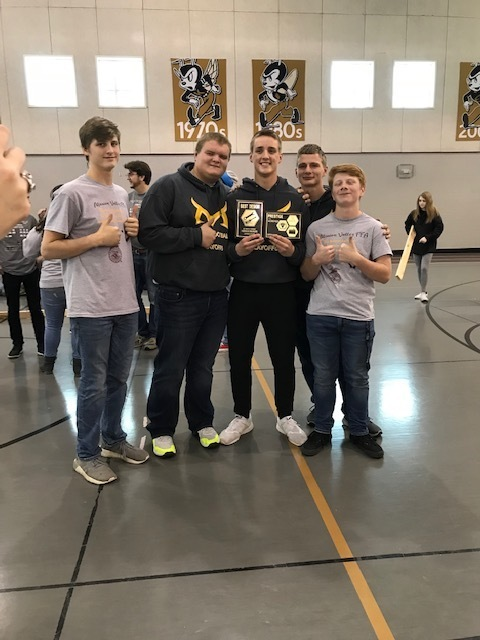 1st place and best robot design team