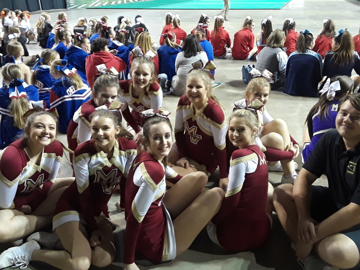 MVHS Cheerleading KSHSAA Competition