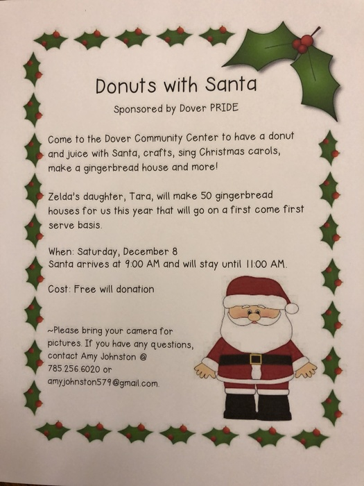 Donuts with Santa Flyer