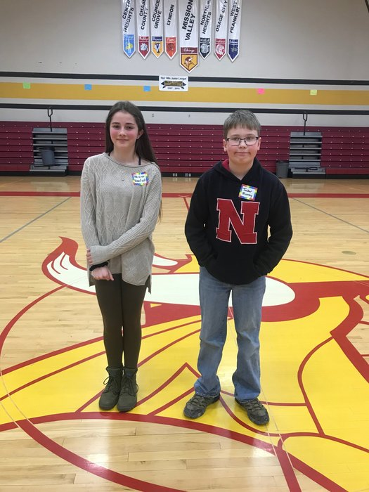 Wabaunsee County Spelling Bee Winners