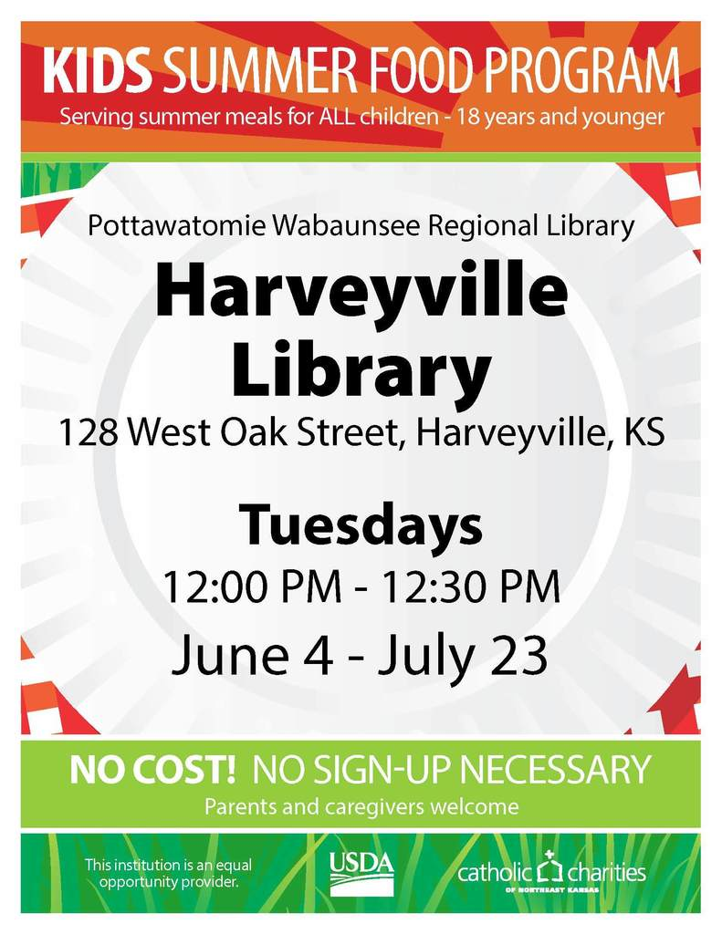 Harveyville Library Lunch Program
