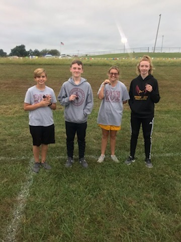 medal winners at the Wabaunsee Cross Country meet.