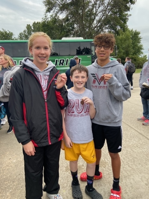CC team members medal winners at the Council Grove Meet