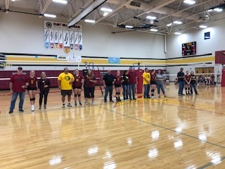 2019 HS VB SR. Night