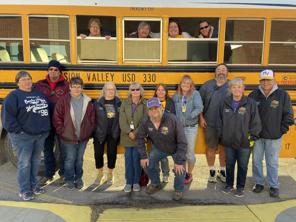 Our transportation staff for Bus Safety Week