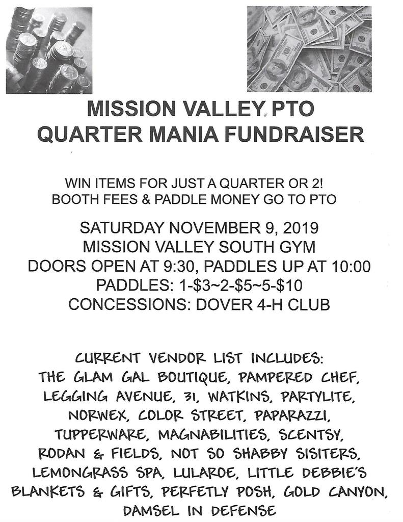 MV Quartermania Flyer