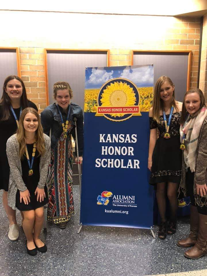 Students honored at the KU Honors Banquet