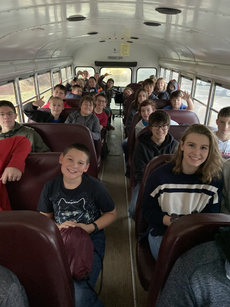 Students headed to Robotics today!