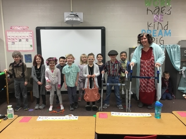 Mrs. Elliott's 1st graders
