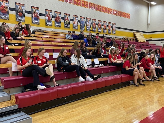 FCCLA students getting ready for District elections