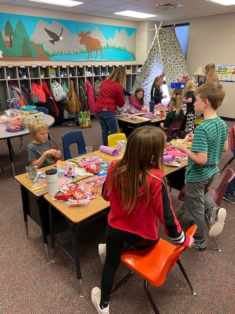 3rd grade Valentine party