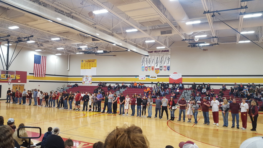 Senior recognition night Feb. 21, 2020