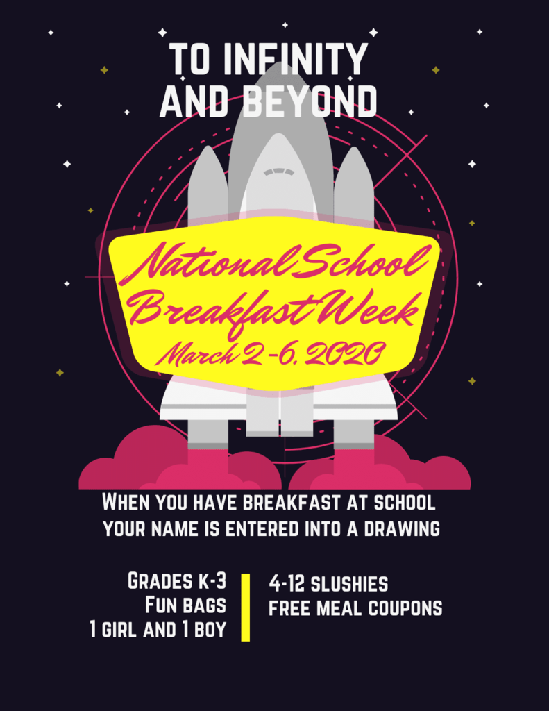 National School Breakfast Week Flyer