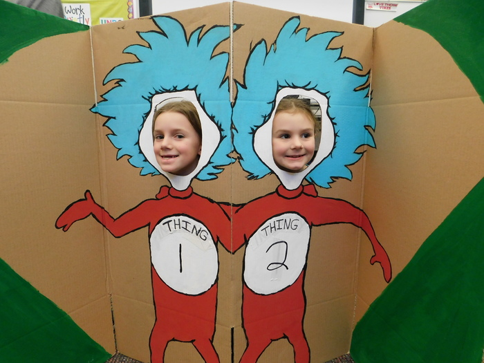 MV students - Thing 1 and Thing 2