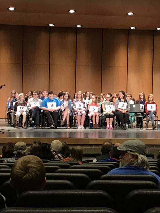 Regional Spelling Bee Saturday, March 10, 2018