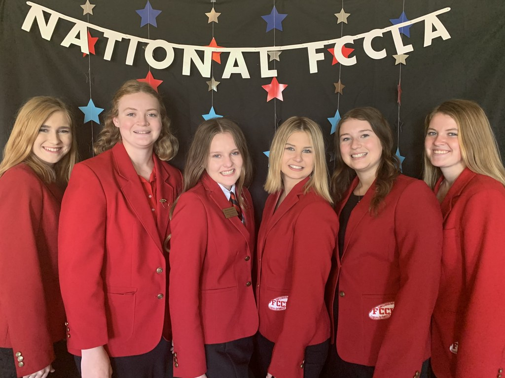 FCCLA National placing Girls