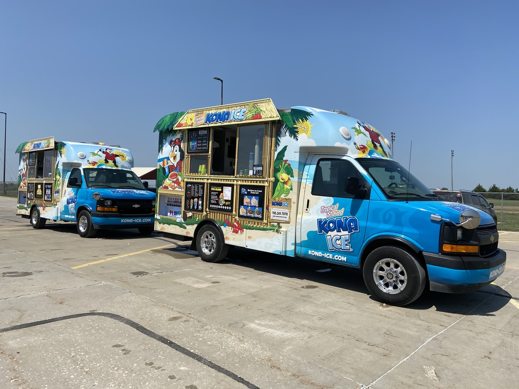 Thank you to our PTO and Kona Ice for a sweet start to our school year!